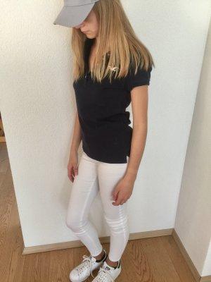 Dunkelblaues Hollister Polo-Shirt