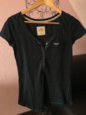Dunkelblaues Hollister T-Shirt