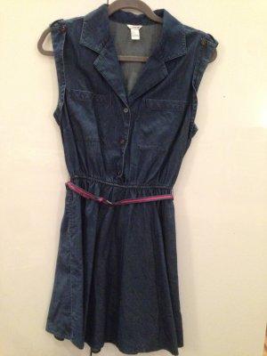 Dunkelblaues Jeanskleid von H&M