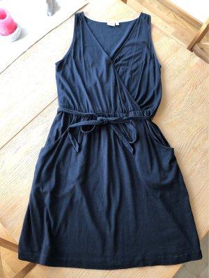Dunkelblaues Jerseykleid von Esprit
