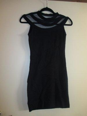 Vestido de lana azul oscuro Algodón