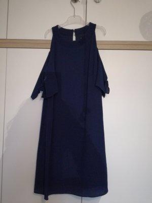 Zara Halterjurk donkerblauw