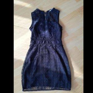 dunkelblaues Kleid H&M