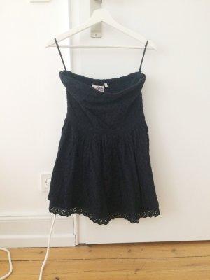 Dunkelblaues Kleid in Spitze von Superdry