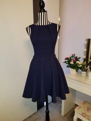 dunkelblaues Kleid in XS
