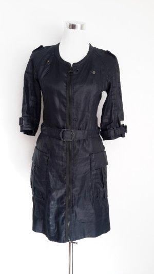 Dunkelblaues Kleid/ Mantel