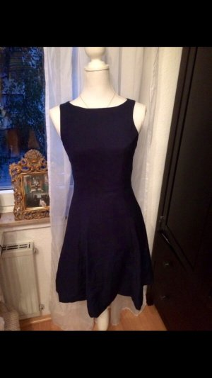 H&M Vestido babydoll azul oscuro