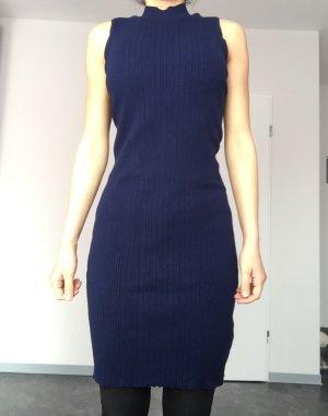 dunkelblaues Kleid Topshop