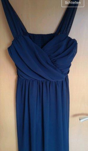 Dunkelblaues Kleid von Asos M, Brautjungfer, Hochzeit, festliches Kleid