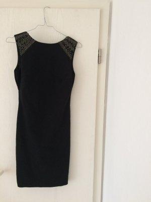 Dunkelblaues Kleid von Zara im XS