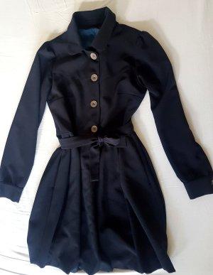 Dunkelblaues kurzes Kleid