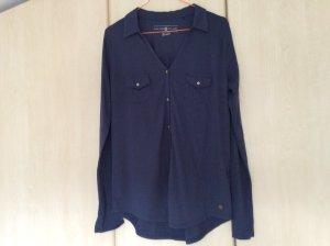 Dunkelblaues Langarm-Shirt von Tom Tailor