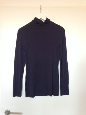 H&M Turtleneck Shirt dark blue