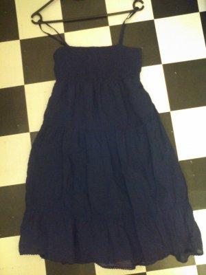 dunkelblaues leichtes Kleid Gr. S wie Neu