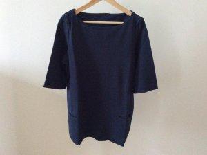 COS Sweat bleu foncé tissu mixte