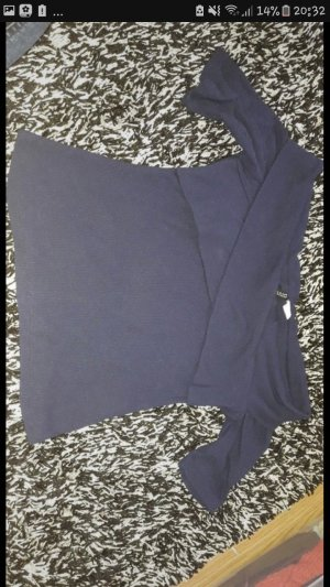 H&M Divided Cropped shirt blauw