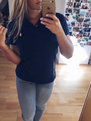 Dunkelblaues Polo Ralph Lauren Shirt