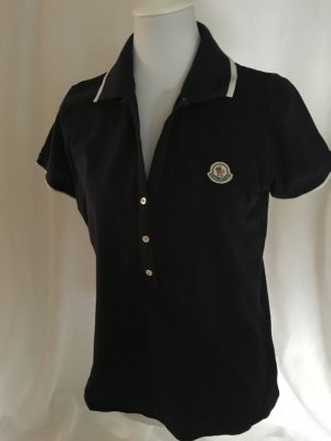Moncler Polo shirt donkerblauw