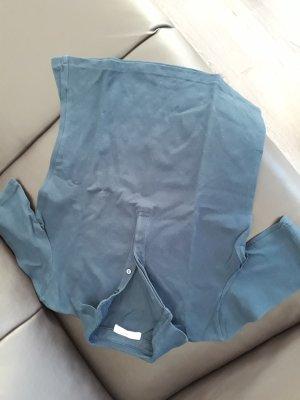 Mango Suit Top Polo blu scuro