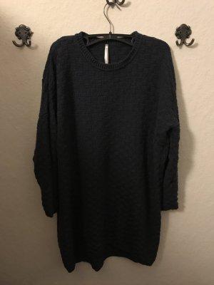 Dunkelblaues Pulloverkleid (100% Organic Cotton und FairTrade)
