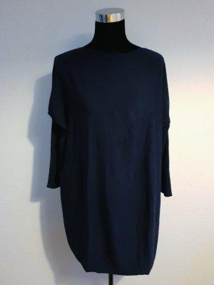 Sweater Dress dark blue mixture fibre