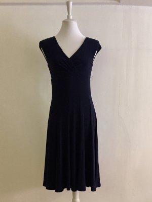 Dunkelblaues Ralph Lauren Kleid