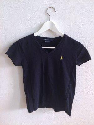 Dunkelblaues Ralph Lauren Shirt