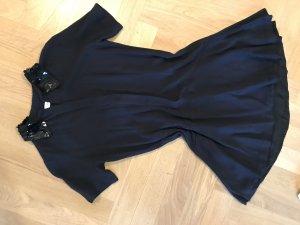 Dunkelblaues Sandro-Kleid