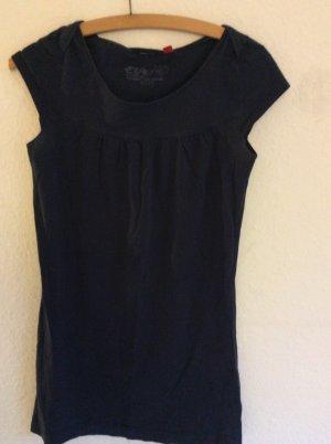 Dunkelblaues, schlichtes Kleid von Esprit in Größe 36