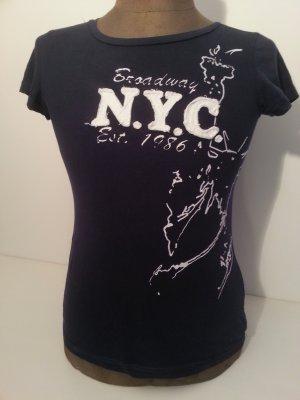 Dunkelblaues Shirt Gr. M/ 38 NYC Broadway