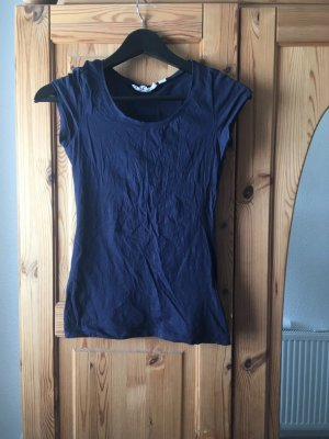 Dunkelblaues Shirt von H&M Gr. XS
