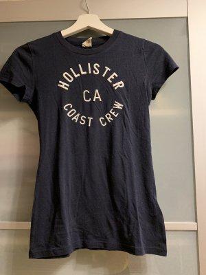 Dunkelblaues Shirt von Hollister