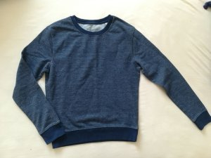 Sweatshirt bleu foncé coton