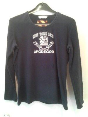 Dunkelblaues Sweatshirt von McGregor