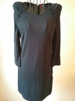 dunkelblaues Sweatshirtkleid
