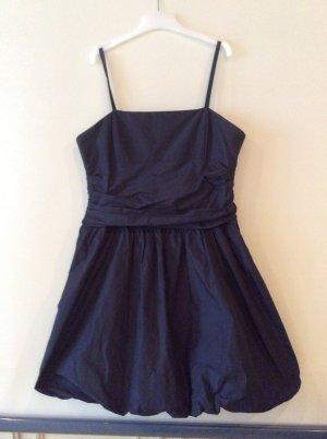 Swing vestido de globo azul oscuro
