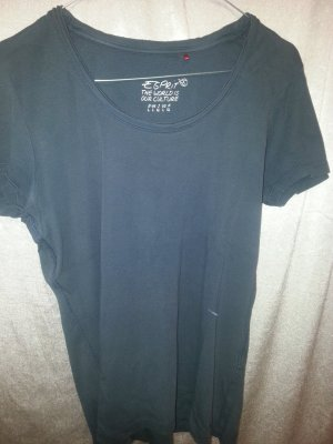Dunkelblaues T-Shirt Esprit