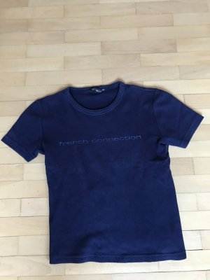 French Connection T-shirt blu scuro