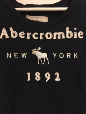 Dunkelblaues T-Shirt von Abercrombie