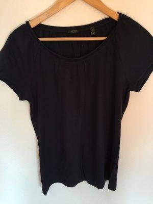 Dunkelblaues T-Shirt von Esprit