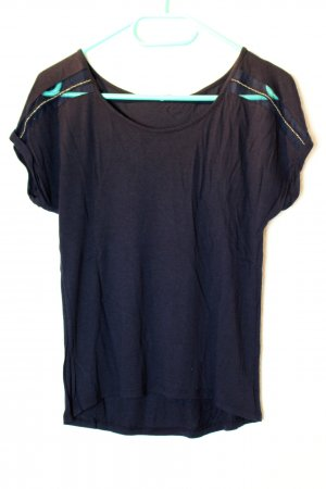 Dunkelblaues T-Shirt von Pimkie