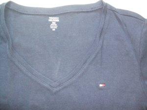 dunkelblaues T-Shirt von Tommy Hilfiger