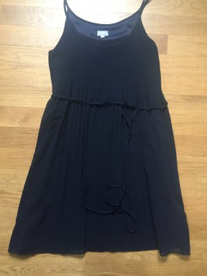 dunkelblaues Trägerkleid von Esprit