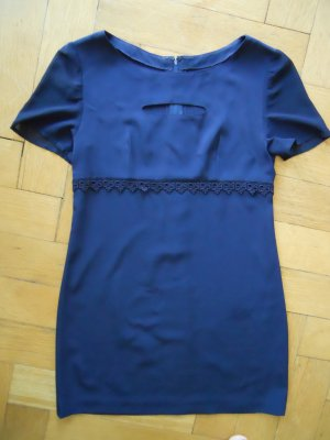 Dunkelblaues True Vintage Minikleid Gr. 40