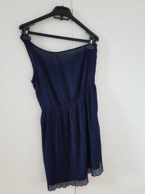 dunkelblaues Zara Kleid mit einem Träger