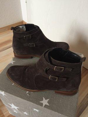 Dunkelbraune Boots Donna Größe 38