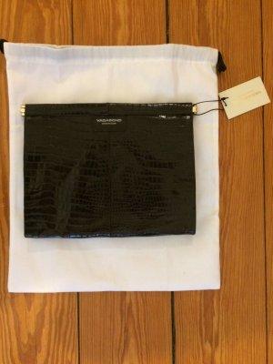 Vagabond Clutch dark brown leather