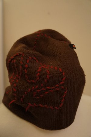 Knitted Hat multicolored cotton