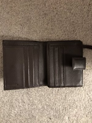 Dunkelbraune Geldbörse von Coccinelle
