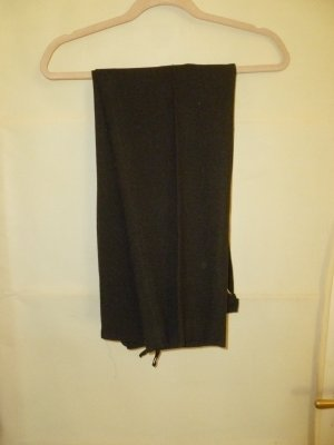 Vintage Pantalon à pinces brun